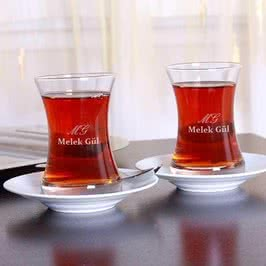 Fiskos İkili Çay Bardak Takımı
