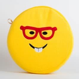 Gözlüklü Emoji Seyahat Yastığı