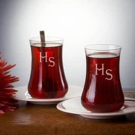 İsimli Dervish Çay Bardağı Seti 2li