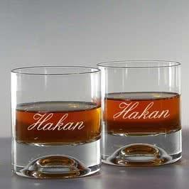 İsimli Viski Kadeh Seti