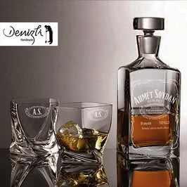 Jack Tasarımlı Highland Viski Seti