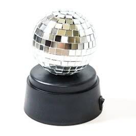 Kendinden Dönen Led Lambalı Disko Topu