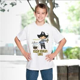 Küçük Korsanlara Özel İsimli Tişört