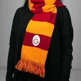 Lisanslı Galatasaray Taraftar Atkısı