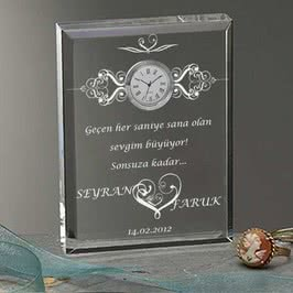 Masa Saati Sevgiliye Hediye