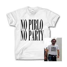 No Pirlo No Party Tişört