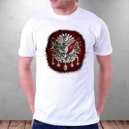 Osmanlı Tuğra Baskılı Tişört