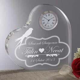 Sevgiliye Yıldönümü Hediyesi Masa Saati