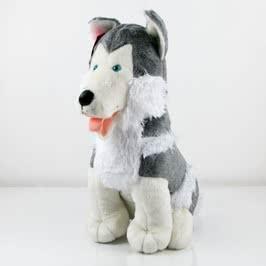 Sibirya Kurdu Peluş Oyuncak Köpek
