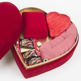 Sonsuzluk Kalp Kolye ve Seni Seviyorum Çünkü Mesajları