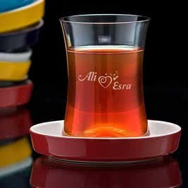 Tiryaki Çay Seti Sevgililere Özel