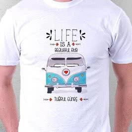 Vos Vos Minibüs Tasarımlı Tişört