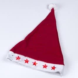 Yılbaşı Hediyesi Kırmızı Noel Baba Şapkası