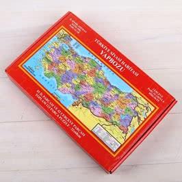 123 Parça Puzzle Türkiye Siyasi Haritası