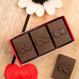 3 lü Sonsuzluk İşaretli Harf Çikolata