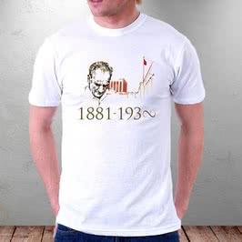 Anıt Kabir Ve Atatürk Baskılı Tişört