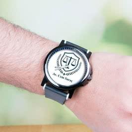 Avukata Hediye Baskılı Kol Saati