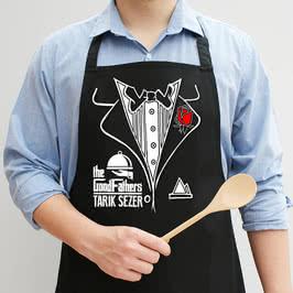 Babaya Özel Hediye Esprili Mutfak Önlüğü