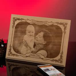 Büyükannelere Özel Anneler Günü Hediyesi Ahşap Foto