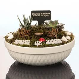 Anneler Günü Hediyesi Minyatür Bahçe
