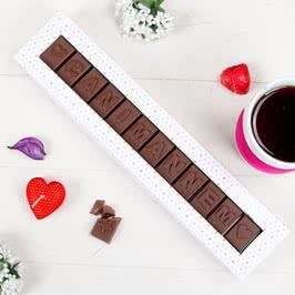 Canım Annem Yazılı Harf Çikolata