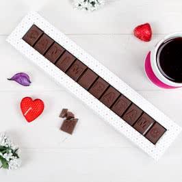 Canım Babam Mesajlı Harf Çikolata