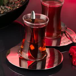 Çiftlere Hediyelik 2li Çay Bardak Seti
