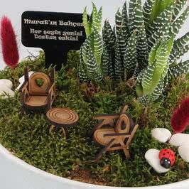 Eskimeyen Dostluklara Özel Minyatür Bahçe