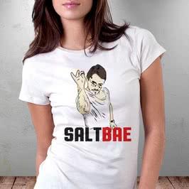 Fenomen SaltBae Baskılı Hediye Tişört