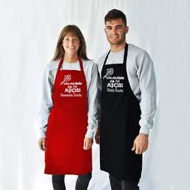 Galaksinin En İyi Şefi İsim Yazılı Mutfak Önlüğü
