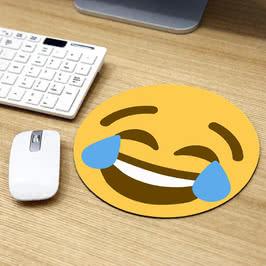 Gülen Surat Emoji Tasarımlı Mousepad