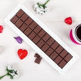 Happy Birthday Mesajlı Harf Çikolata