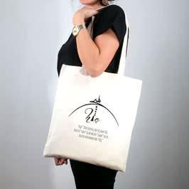 Hiç Tasarımlı Bez Çanta
