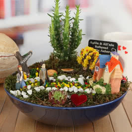 İsme Özel Sonbahar Esintisi Minyatür Bahçe