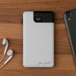 Kendinden Kablolu Iphone Powerbank 5000 mAh