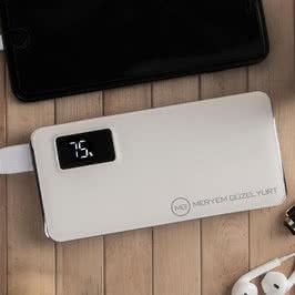 Kişiye Özel Tasarımcı Ürünü Powerbank 13000 mAh