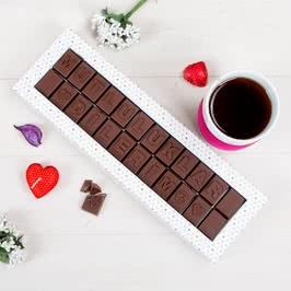 Mutluluklar Dilerim Mesajlı Harf Çikolata