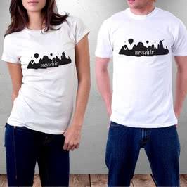 Nevşehir Kapadokya Tasarımlı Baskılı Tişört