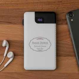 Öğretmenler Günü Hediyesi Iphone Powerbank 5000 mAh