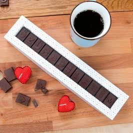 Özür Dilerim Harf Çikolata