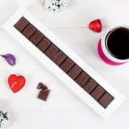 Tebrikler Mesajlı Harf Çikolata