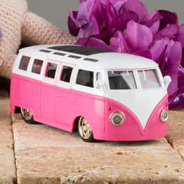 Volkswagen Bus Işıklı ve Motor Sesli Çek Bırak Araba