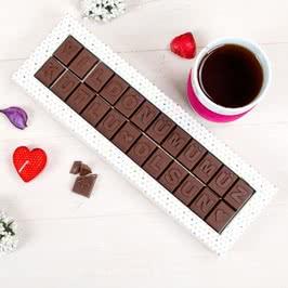 Yıl Dönümümüz Kutlu Olsun Mesajlı Çikolata