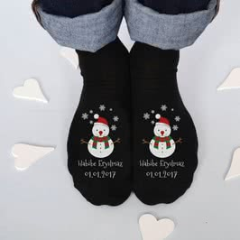 Yılbaşı Hediyesi 6 Çift Kişiye Özel Çorap Seti