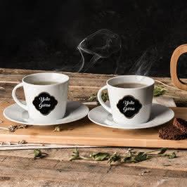 İsme Özel Kahve Fincanı Seti