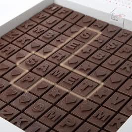 Puzzle Kelime Bulmacalı Harf Çikolata