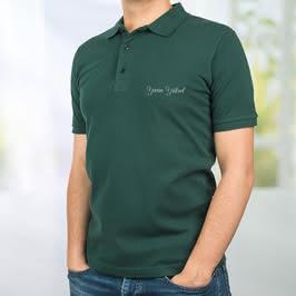 Kişiye Özel İsim Nakış İşlemeli Polo Yaka Tişört