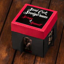 Sevgiliye Hediye 12 Fotoğraflı Patlayan Kutu