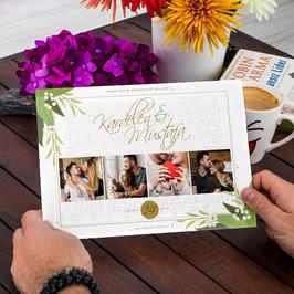 Sevgiliye Hediye Kişiye Özel Fotoğraf Baskılı A4 Puzzle