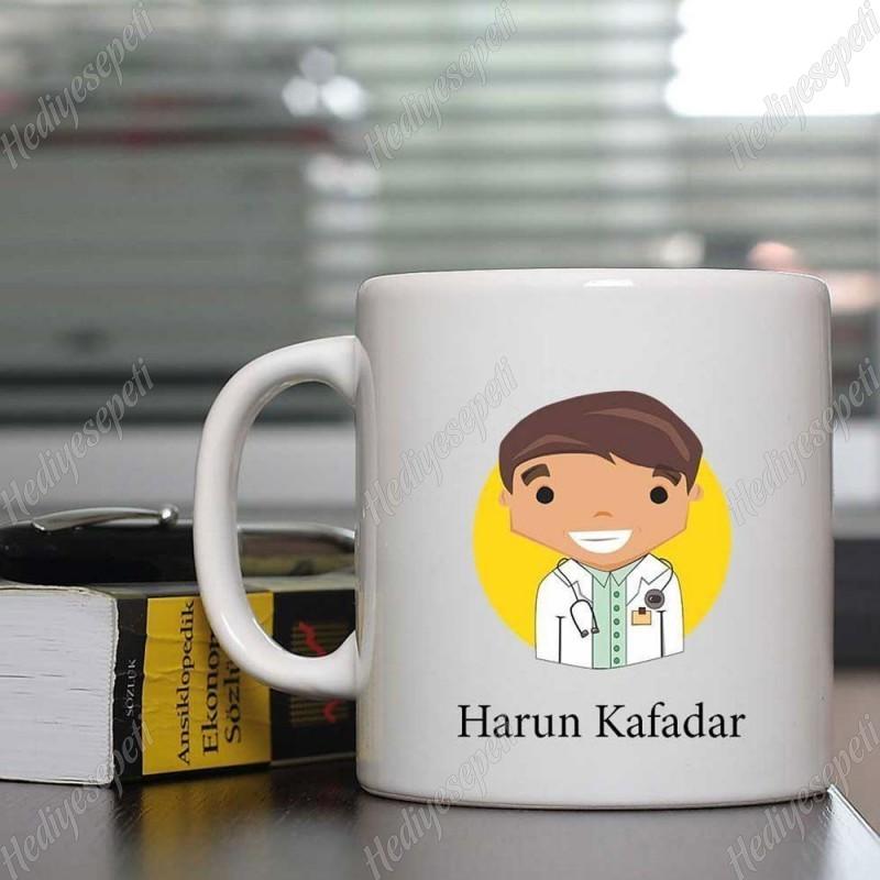 Doktorlara Özel Mutlu Mesut Kahve Kupası